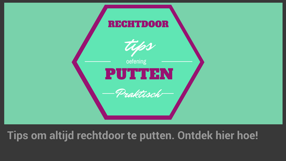 Tips om rechtdoor te leren putten