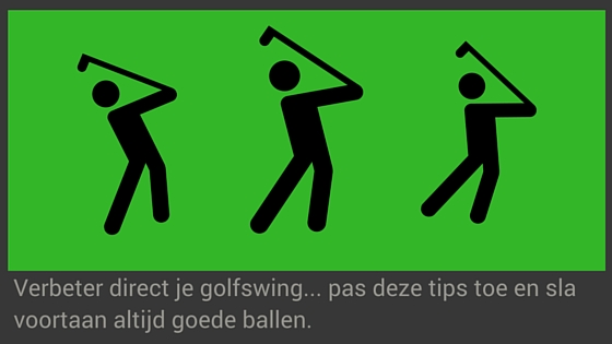 Tips om je golf swing te verbeteren