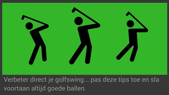 Tips om je golf swing te verbeteren