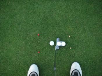 setup putten golf